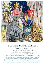 Drawings - Saundra Smith Rubiera | The Arts Council of  Fayetteville/Cumberland County