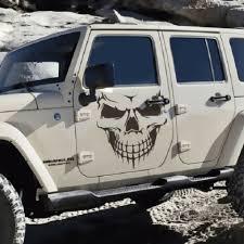 Large Skull Graphic Tailgate Hood Window Decal Vehicle Truck Car Suv Vinyl Black Ushirika Coop