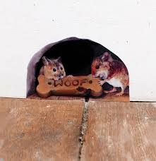 Mouse Hole Wall Sticker Sharing Is Caring Mice Love Etsy