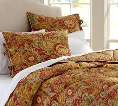 helena reversible comforter red