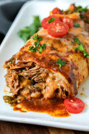 Slow Cooker Beef Burritos {Great for a Crowd} - Spend With Pennies