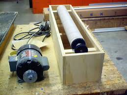 v drum sander kit build