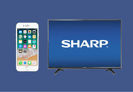 how to connect iphone to sharp smart tv