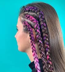 Modne Fryzury 2020 Kolorowe Warkocze Wideo Wizaz Pl