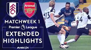 Fulham v. Arsenal   PREMIER LEAGUE HIGHLIGHTS   9/12/2020