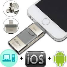 """Adela: Price """"New 64G 3 in 1 i-Flash Drive Usb OTG USB HD Pendrive  Lightning Data for IPhone/iPad/iPod/Android in Malaysia"""