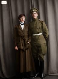 Felix and Irina Yusupov, Russian Empire, 1914 – Photo restoration and  colorization