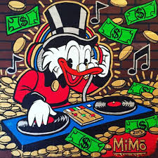 mike mozart mimo uncle scrooge dj