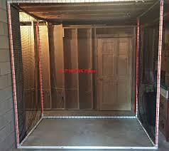 diy indoor golf net