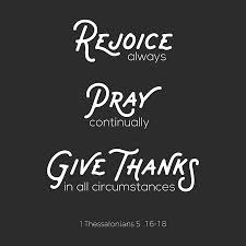 christian bible quote for use as poster or flying about rejoice