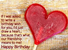 birthday wishes lines for best friend
