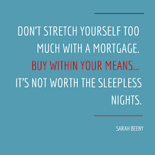 our realestatequote of the day comes from sarah beeny