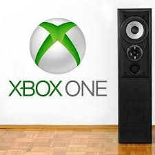 Xbox One Logo Decal Removable Wall Sticker Home Decor Art Video Game Room Huge Wall Stickers Home Decor Wall Stickers Home Removable Wall Stickers