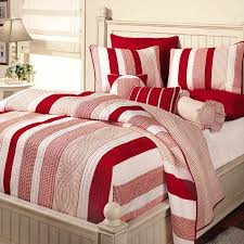 white striped bedding sets bedrooms