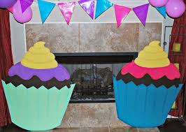 diy candy themed party decorations