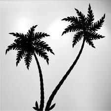 Palm Tree Vinyl Wall Decal 2 Trees 1489 Innovativestencils