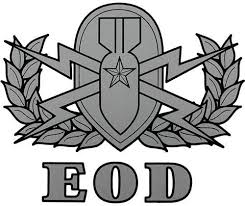 Amazon Com Explosive Ordnance Disposal Eod Badge Clear Decal Automotive