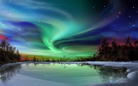 aurora cool nature wallpaper 16838