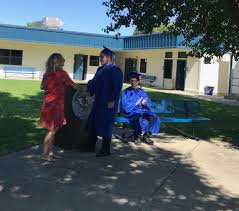 """YubaCity Unif School on Twitter: """"Albert Powell High School Nine more  students graduated this summer from Albert Powell. We held a quick ceremony  for two of them. Congratulations! #powellpride… https://t.co/sp7e94G2Xh"""""""