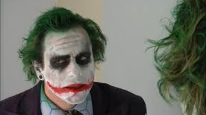 being the joker makeup tutorial