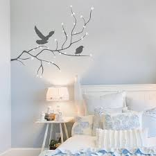 Branch With Dots And Birds Wall Decal