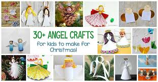 30 angel crafts for kids buggy and buddy