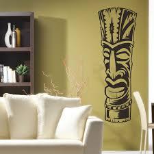 Tiki Sticker 3 Polynesian Wall Decor Decal Wall Art Wall Decor Decals Wall Decals