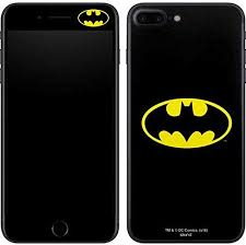 Amazon Com Skinit Decal Phone Skin Compatible With Iphone 8 Plus Officially Licensed Warner Bros Batman Official Logo Design
