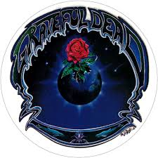 Grateful Dead Earth Rose Window Sticker Decal Peace Resource Project