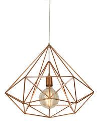 geometric pendant light elegant