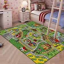 Cars Disney Childrens Girls Bedroom Playroom Carpets Kids Play Rug Pink Mat Fun