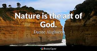 dante alighieri nature is the art of god
