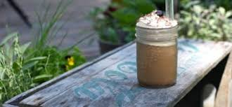 iced coffee frappe at home