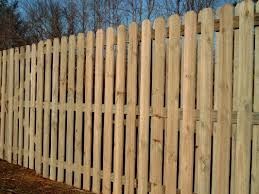 Semi Private Wood Fencing Budget Fence Company