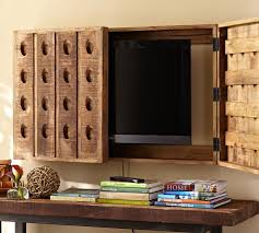 ways to hide a flat screen tv