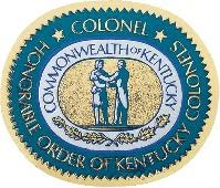 Great Seal Auto Decal Kentucky Colonels Online Store