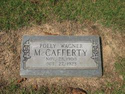 Polly Wagner McCafferty (1900-1923) - Find A Grave Memorial