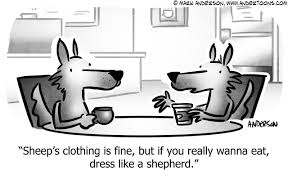 Wolves Cartoon # 8062 - ANDERTOONS