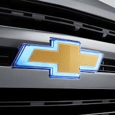 2020 Silverado 1500 Chevrolet Bowtie Emblem Gold Illuminated Front Grille Gold Bowtie 84602324
