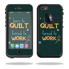 Skin For Lifeproof Iphone 6 Fre Born To Quilt Mightyskins Protective Durable And Unique Vinyl