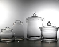 gj 004 large apothecary glass jar with