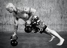 kettlebells and bodyweight exercise