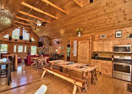 poconos log cabin als white haven
