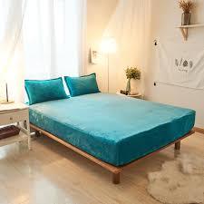 dark green color solid color bed sheet