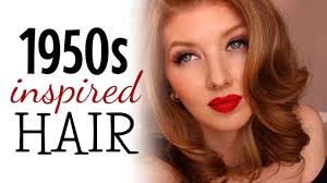 1950s inspired hair tutorial you