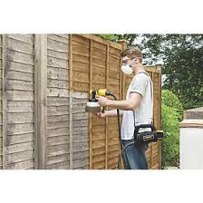Wagner 2369472 460w Electric Fence Decking Sprayer 220 240v Electric Paint Sprayers Screwfix Com