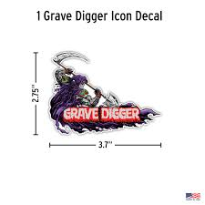 Monster Jam Grave Digger Decals Decalcomania