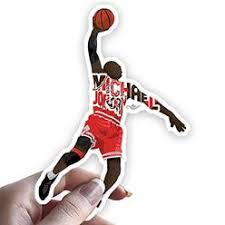 Jordan Michael Jordan Air Vinyl Car Decal Sticker
