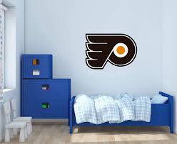 Amazon Com Phillies Flyers Wall Decal For Home Bedroom Decoration Wide 20 X14 Height Inches Home Kitchen
