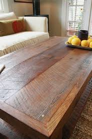 large rustic coffee table doorman